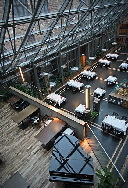 Pięciogwiazdkowy Hotel Warszawa - restauracja cristallo
